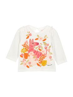 Langärmeliges Baby-T-Shirt für Mädchen FIBATEE / 19SG0961TML001