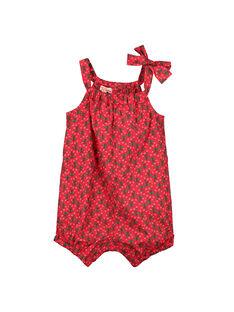 Bedruckter Baby-Strampelanzug für Mädchen FIYEBAR / 19SG09M1BAR304