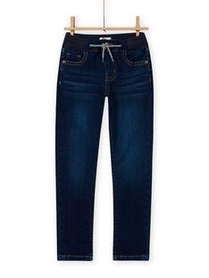 Gummizug-Jeans für Jungen MOMIXJEAN / 21W902J1JEAP274