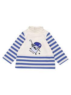 Gestreifter Unterziehpullover aus Jersey Baby Junge GUBLASOUP / 19WG10S1SPL001