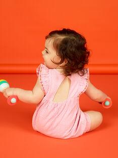 Baby Girl Streifen und Stickerei Tote LIVIBAR / 21SG09U1BAR320