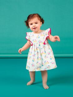 Baby Mädchen blaues Kleid LIVERROB1 / 21SG09Q2ROBG622