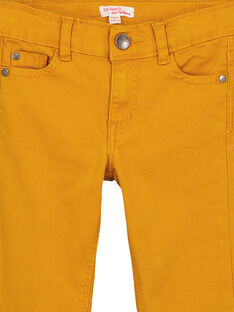 Slim Fit Stretchhose Ocker GOJOPATWI2 / 19W90248D2B107