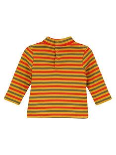 Orangefarbener Unterziehpullover GUJOSOUP5 / 19WG10L2SPL113